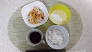 朝食メニュー画像